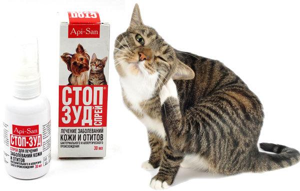 cтоп-зуд для кошек - инструкция по применению препарата