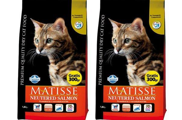 Фармина корм для кошек: состав и описание