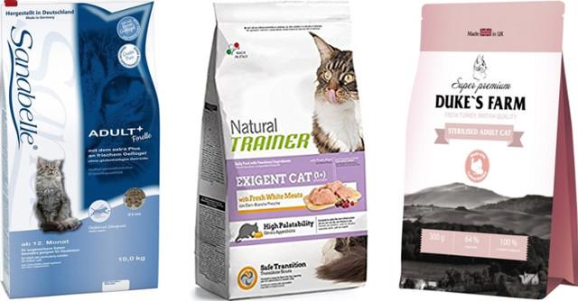 Корм для шерсти кошек - список кормов