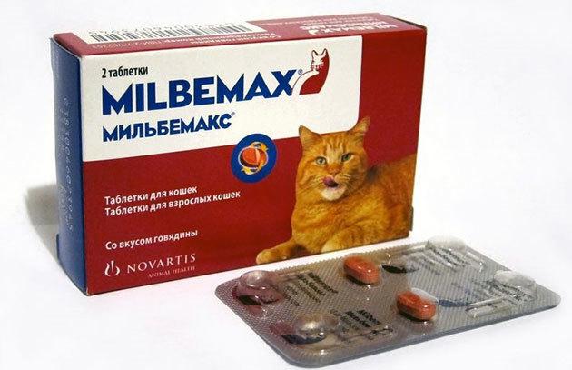 Мильбемакс для кошек - инструкция по применению