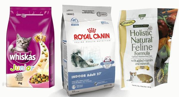 10 сухих кормом для кошек премиум класса, описание