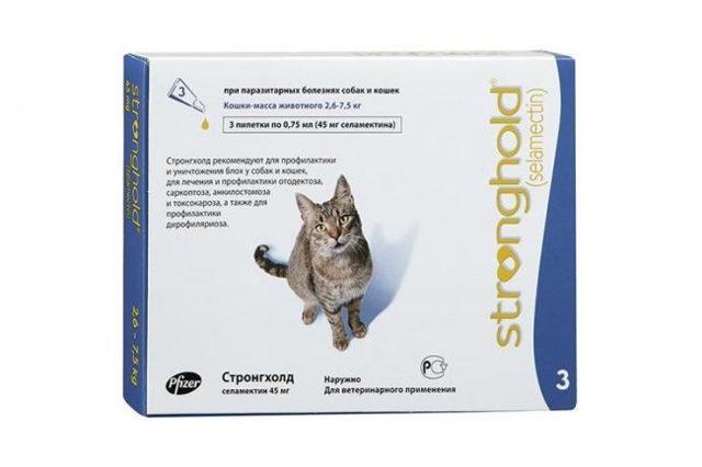 Капли от блох для кошек - эффективные препараты