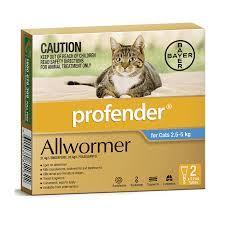 Профендер для кошек – инструкция по применению