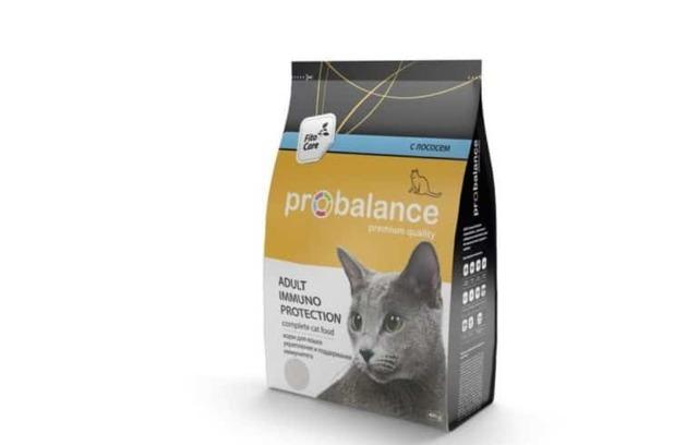 Пробаланс корм для кошек - состав, преимущества и недостатки