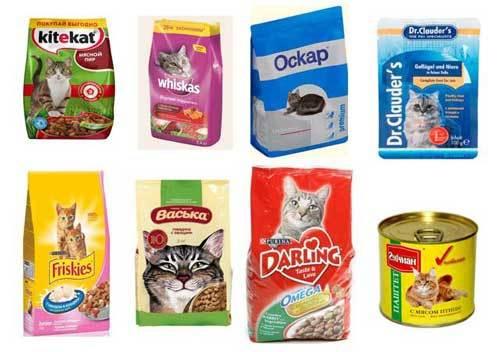 Корм для кошек Наша марка - состав и описание
